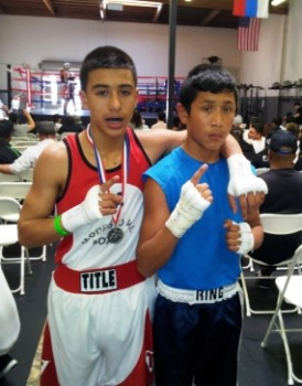 Javier Gradilla (L) and Jonathan Rubio (R) in San Leandro last weekend
